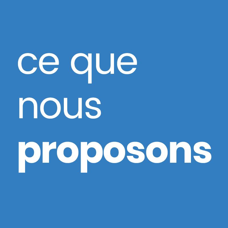 Prestations proposées 1