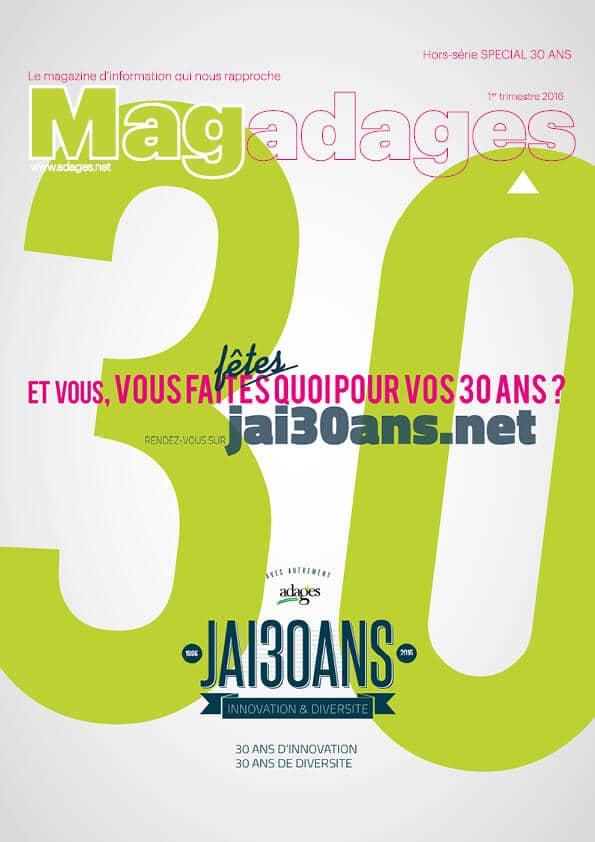 Magadages | HORS-SERIE JAI30ANS