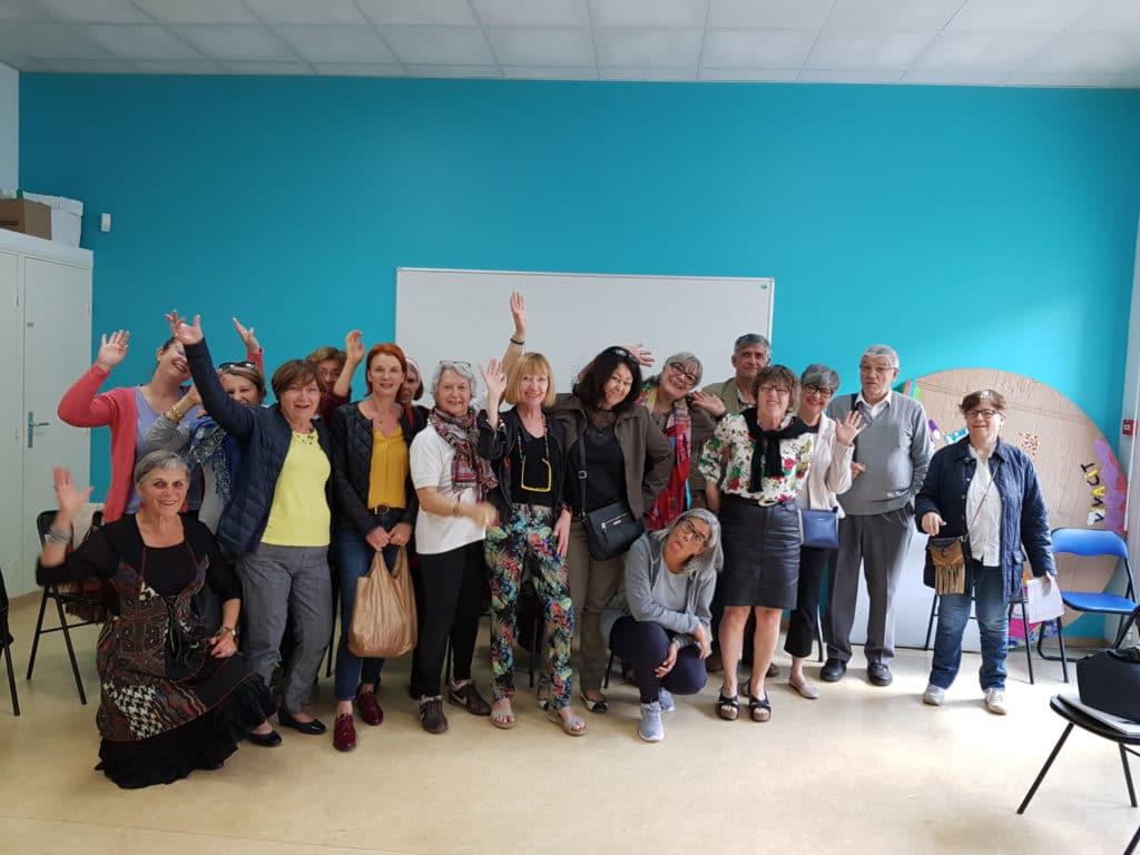 Les bénévoles, fer de lance du centre social Espace Famille, Croix d'Argent.