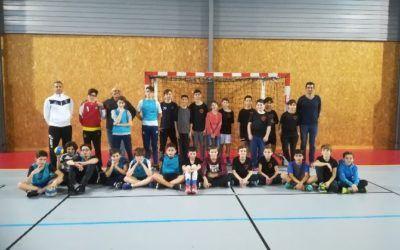 Handball adapté à l'ITEP Bourneville