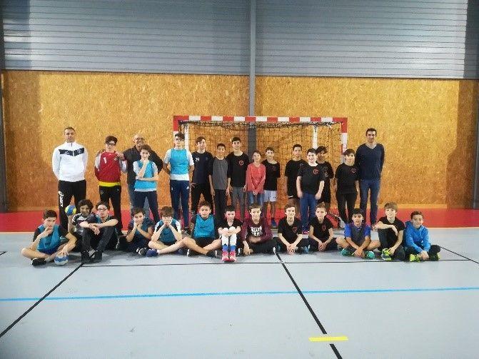 Handball adapté à l'ITEP Bourneville 1