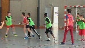 Handball adapté à l'ITEP Bourneville 2